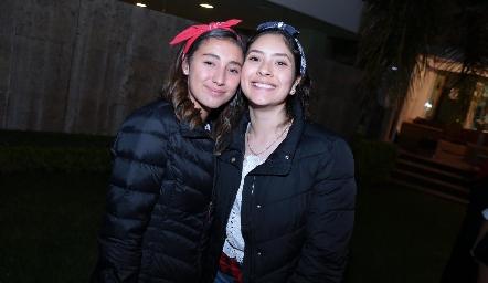 Kerenn Valdez y María Fernanda.