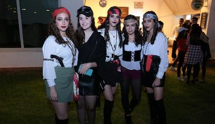 Las piratas.
