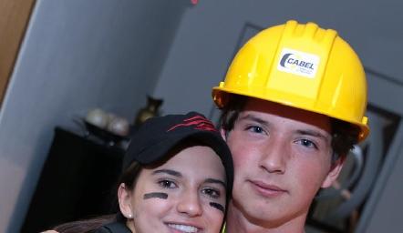 Carola García y Manuel Toledo.