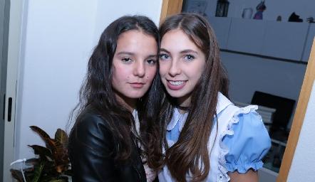 Ximena Castro y Giulia Sarocchi.