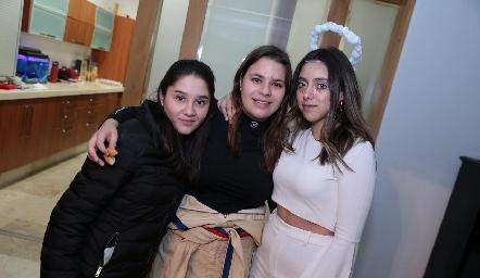 Lorenza Osornio, América Duarte y Marijó Álvarez.