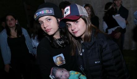 Mariana y Daniela.