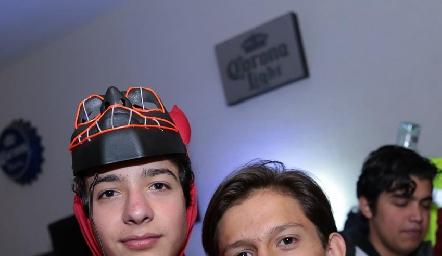 Emilio Castro y Eduardo Gaviño.