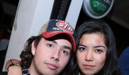 Humberto Abaroa y Mía Morales.