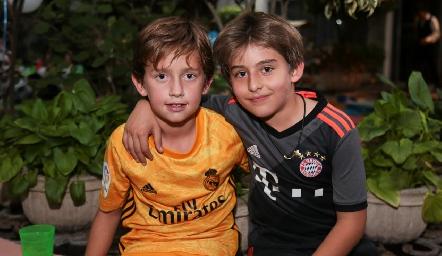 Diego y Diego.
