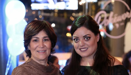 Miriam Bravo y Andrea Gutiérrez.