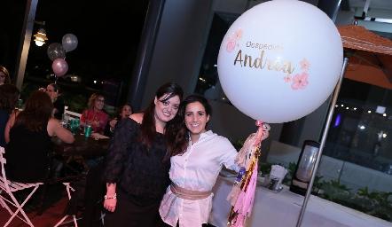 Andrea Gutiérrez y María Lavín.
