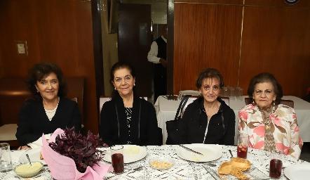 Margarita Labastida, July, Catalina y Ana María Sarquis.