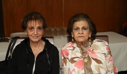 Catalina y Ana María Sarquis.