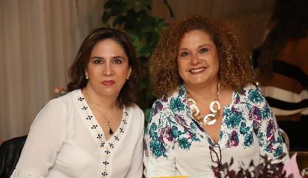 Lili Acuña y Tania Franco.
