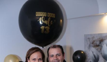 Vianney Díaz, Humberto Lomas, Camila y Vale Lomas Díaz.