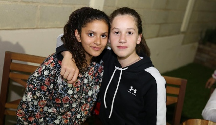 Valeria y Mariana.