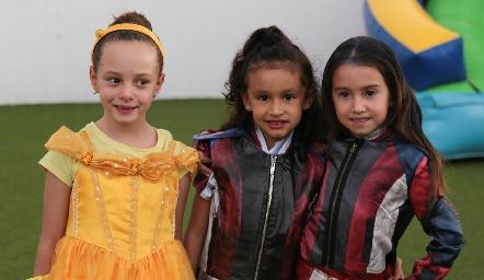 Andrea, Andrea y Mariana.