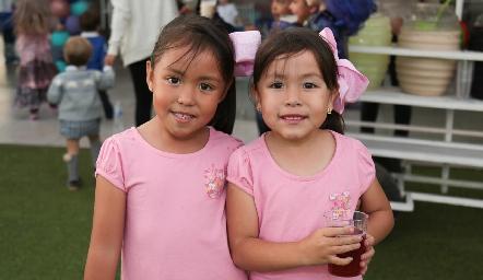 Camila y Renata.