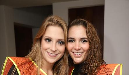 Ale Álvarez y Lucila Andrade.