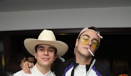 Alejandro Sánchez y Daniel Abella.
