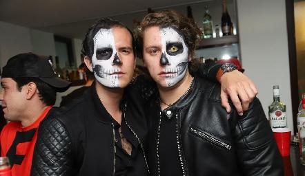 Juan Fer Rojas y Mauricio Ojeda.