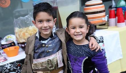 Arturo y Cristina.