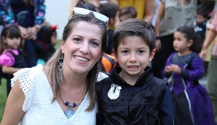 Sofía Rueda y Diego.