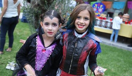 Isabella y Sofía.