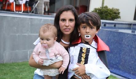 Dany, Daniela de la Fuente y Jorge.