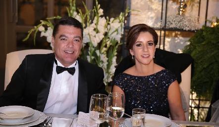 Antonio Gutiérrez y Alejandra Ávila de Gutiérrez.