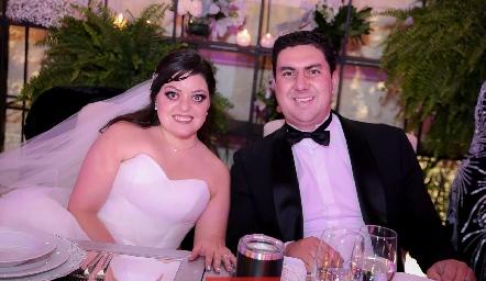 Andrea Gutiérrez y Miguel Robledo.