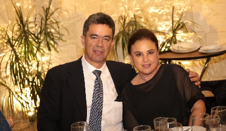 Ignacio Gutiérrez y Alicia Madrazo.
