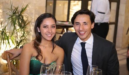 Anabel Romo y Eduardo Hermosillo.