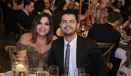 Maricel y Bruno.