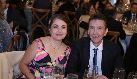 Irma y Jorge Quijano.