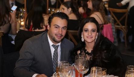 Rafael González y Marisol Madrigal.