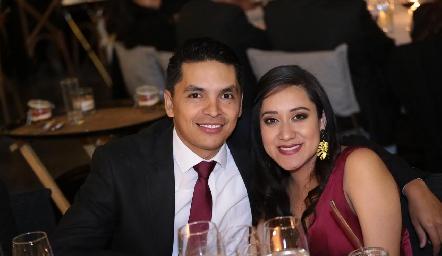 David Gutiérrez y Graciela Hernández.