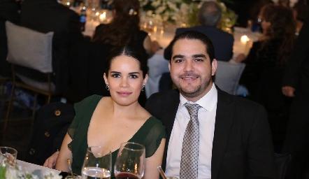 Nicole Petersen y Patricio Valdes.