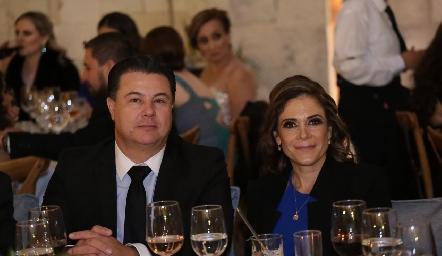 Javier y Melissa Mercado.
