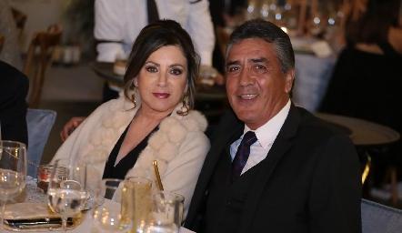 Zaida y Raúl Flores.