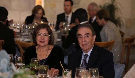 Nancy Orozco y Gustavo Puente Estrada.