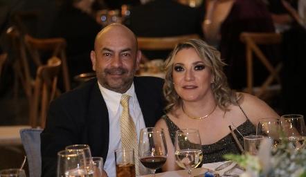 Raúl Valdez y Rosario Vigna.