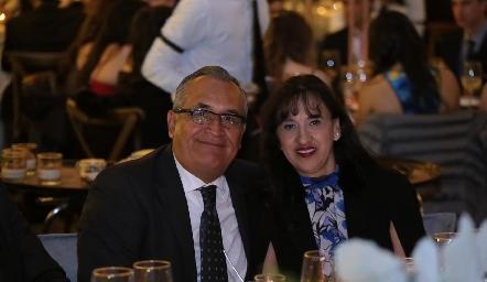 Lorenzo y Claudia Sánchez.