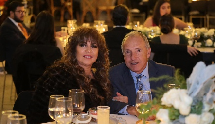 Florencia y Jaime Díaz Infante.