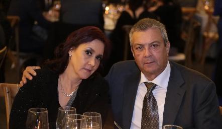María Isabel y Fernando.