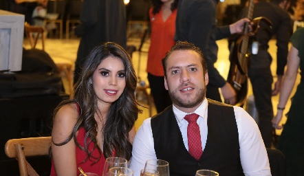 Naela y Mauricio Cabral.