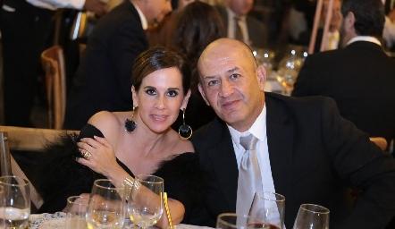 Martha del Río y Miguel Abud.