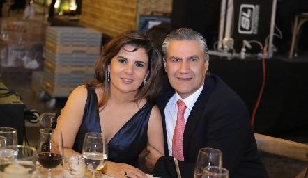 Montse Abella y Juan Manuel Piñero.