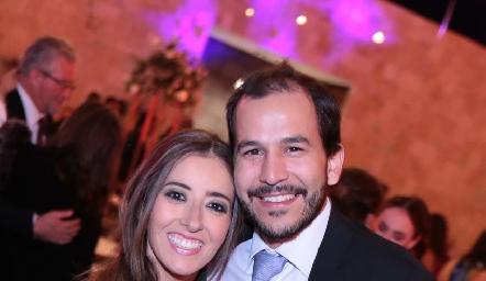 Eugenia Cortés y Daniel Mendizábal.