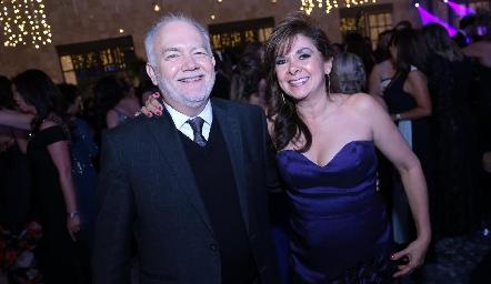 René y Elia Padilla.
