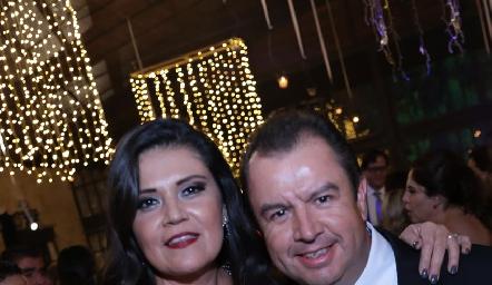 Ana y Jesús Ortiz.