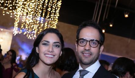 Alejandra Rojas y Juan Pablo Cabrera.