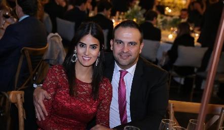 Fernanda y Yahir Caballero.