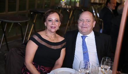Edith Rivera y Francisco Cabral.